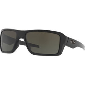 Oakley Double Edge Bril, matte black/dark grey